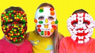 Magazin magic | Sara pretend play magic shop Candy face mask