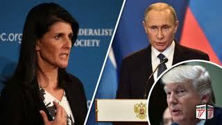 Increíble: La ONU Aprueba Sanciones contra Rusia por el Supuesto Ataque Químico en Siria
