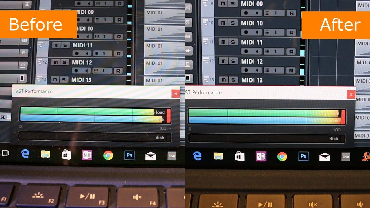windows 10 anniversary update audio performance comparison