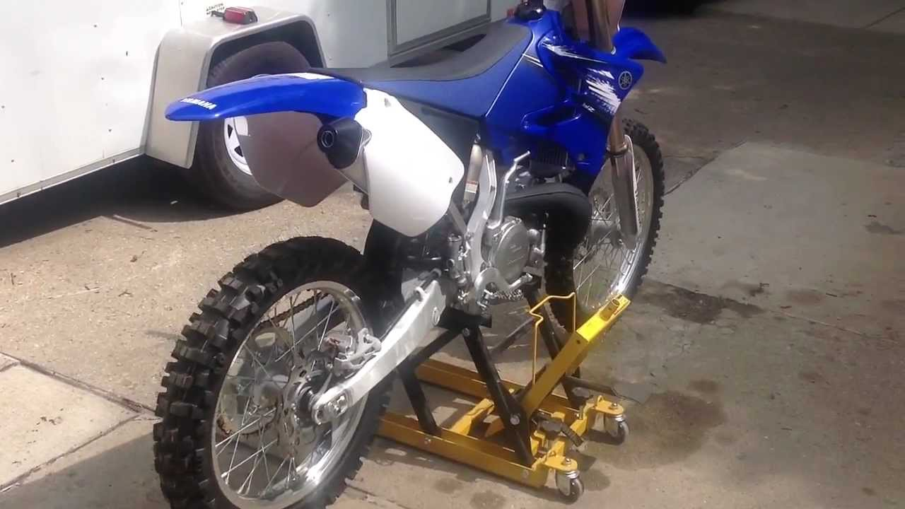 2012 yz 250 look around and start up yz250