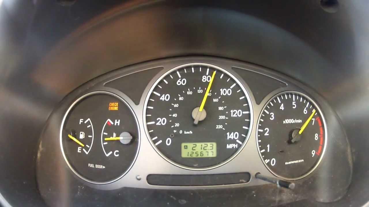 2002 Subaru WRX Cobb Stage 2 0-60 mph
