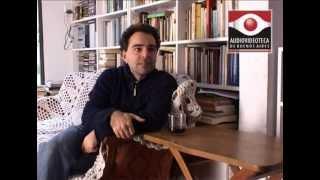 Pablo de Santis  - Audiovideoteca de Escritores
