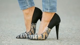 4 Ways to Wear Jeans with Heels | Get the Look