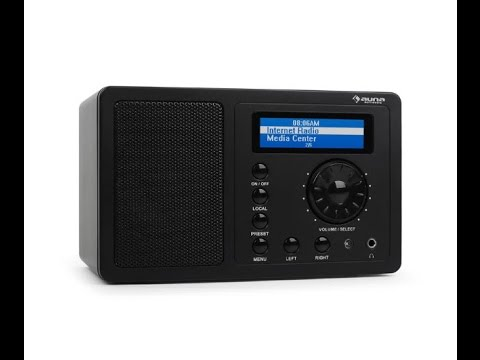 Auna IR-130 Radio de internet WiFi Streaming Analisis
