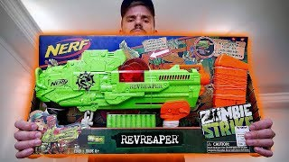 NERF ZOMBIE STRIKE!! Ri Happy Toy Store New Nerf