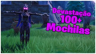 SHOWING THE DEVASTATION SKIN & 100 + BACKPACKS | FORTNITE