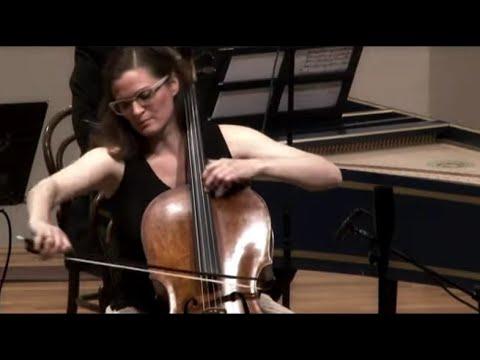 C.P.E. Bach - Cello concerto in A Major Wq 172 - Monika Leskovar