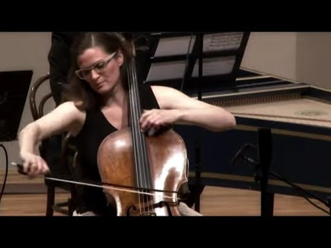 C.P.E. Bach - Cello concerto in A Major Wq 172 - Monika Leskovar