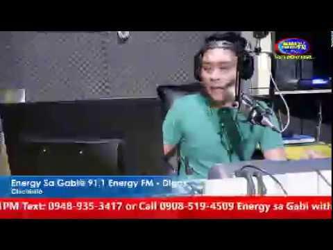 "Chichinito on ""Energy Sa Gabi"" 91.1 Energy FM Digos"