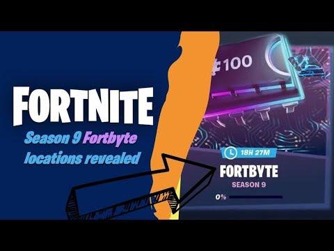 NEW  ALL Week 2 Season 9 Challenges Guide   Fortnite Battle Royale