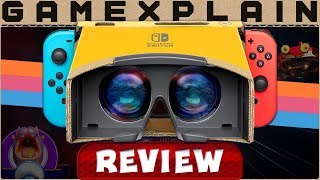Labo VR is the Real Deal - REVIEW (Nintendo Switch) (Video Game Video Review)