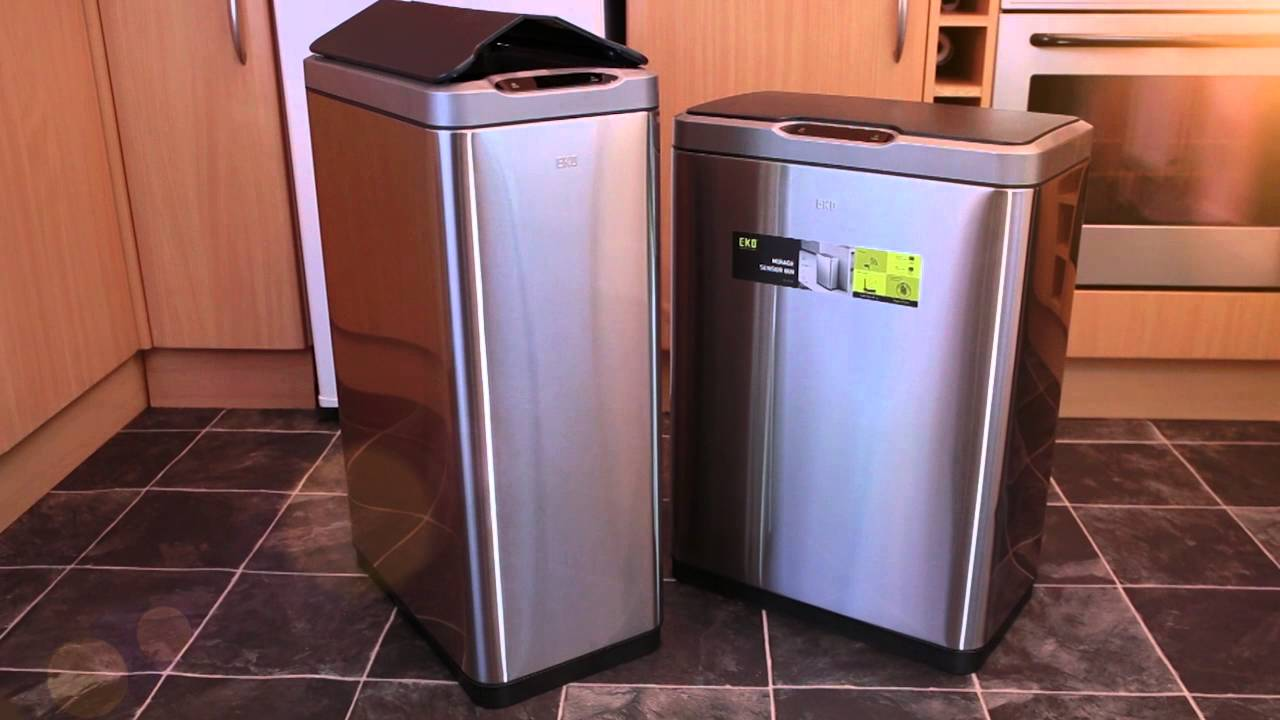 EKO Premium Kitchen Bins   YouTube
