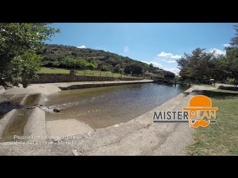 piscina natural de gargantilla valle del ambroz youtube