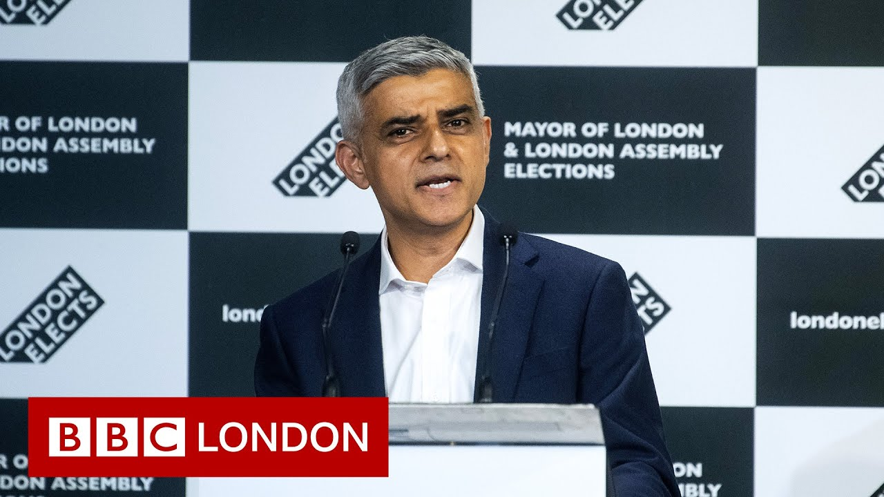 Download Sadiq Khan re-elected as London Mayor   Full declaration and speeches