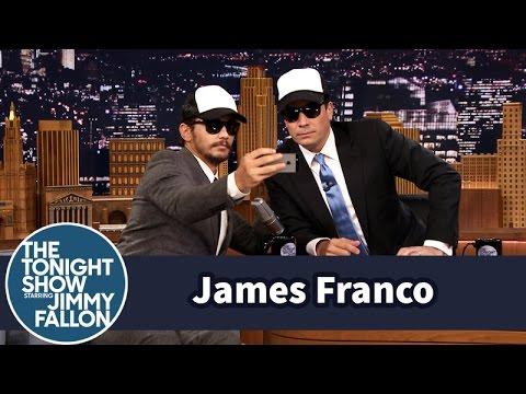 James Franco Gives a Fan Selfie Tutorial