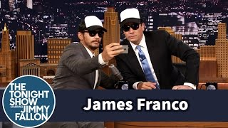 James Franco Gives a Fan Selfie Tutorial