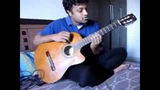 """""""Uppenantha ee premaki"""" - aarya 2 praveen guitar"""