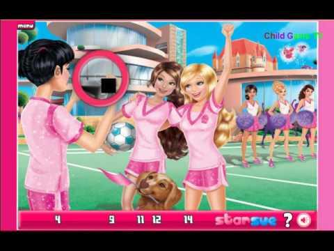 Barbie Princess Charm School Games Video Youtube