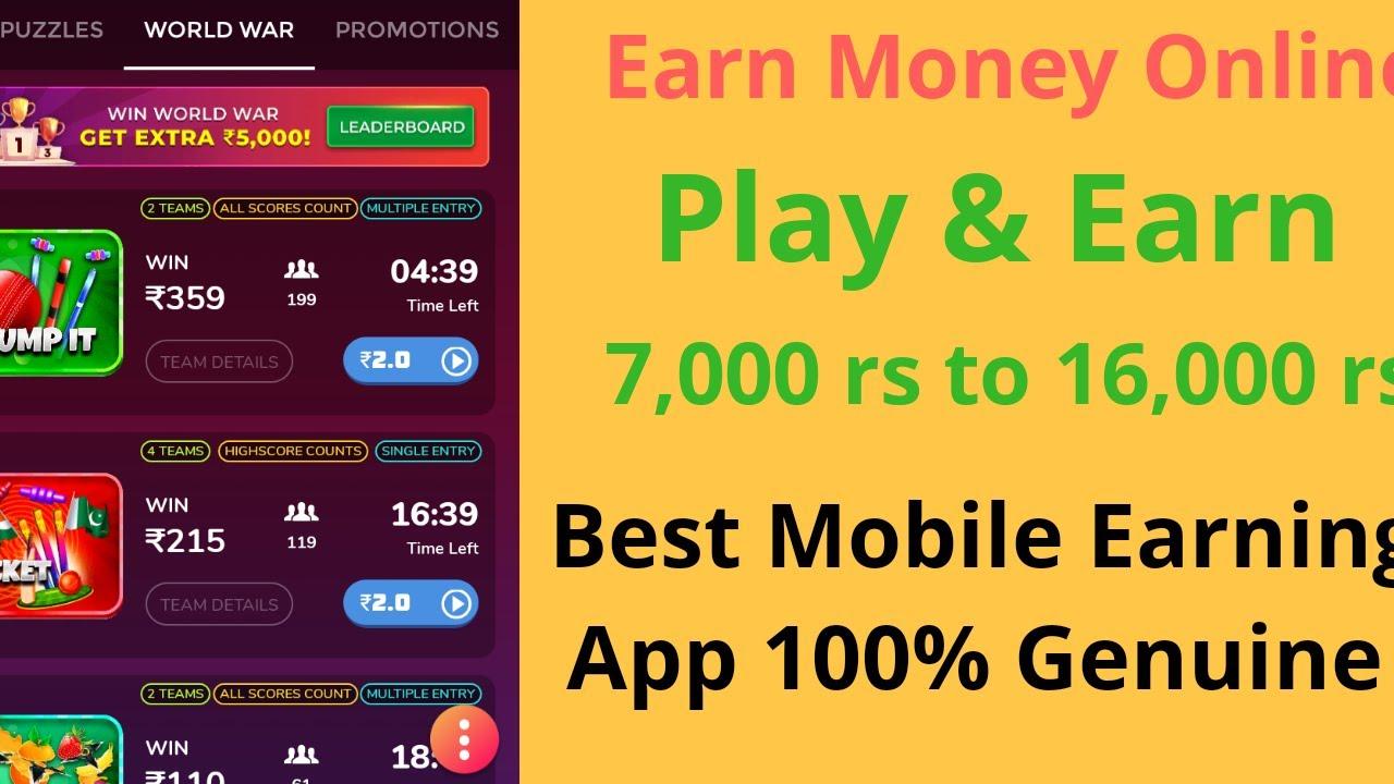 Best App For Earning Real Money