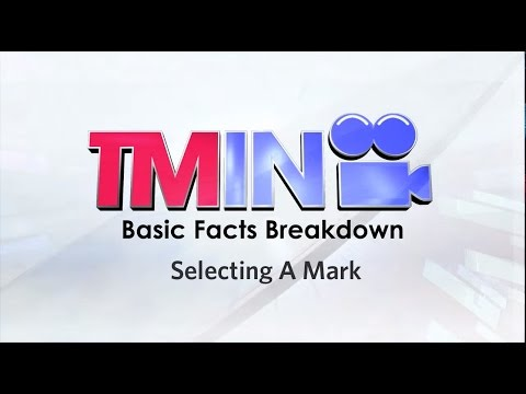 Basic Facts 03: Selecting A Mark