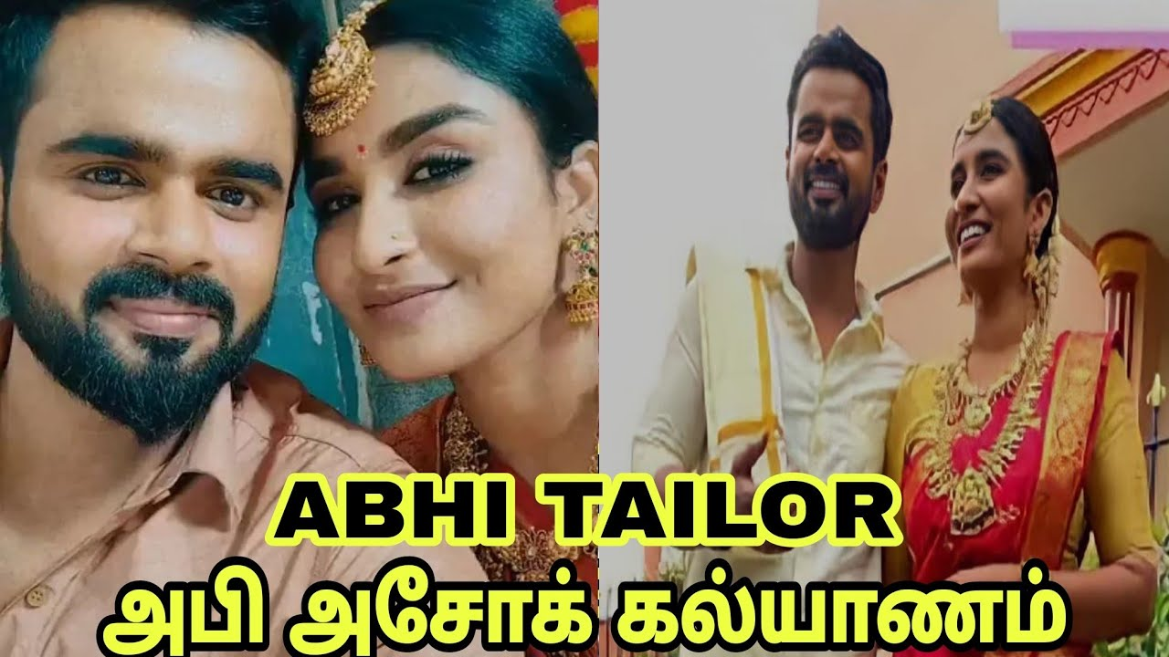Colors Tamil Abhi Tailor Upcoming Episode marrige Scene