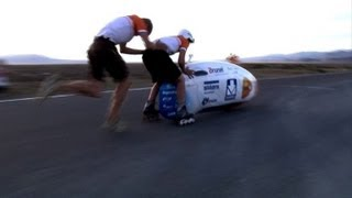 Dutch student team sets world land-speed record