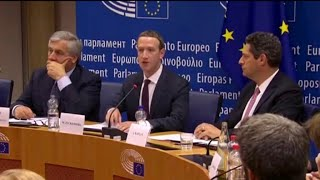 Zuckerberg apologizes to European lawmakers for Facebook misuse
