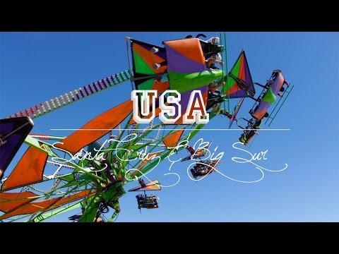 Travel Vlog : USA // Santa Cruz & Big Sur ◇ Helly Jo