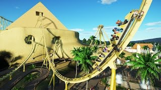 Planet Coaster Gameplay - Egypt Coasters! - Let's Play Planet Coaster Part 11