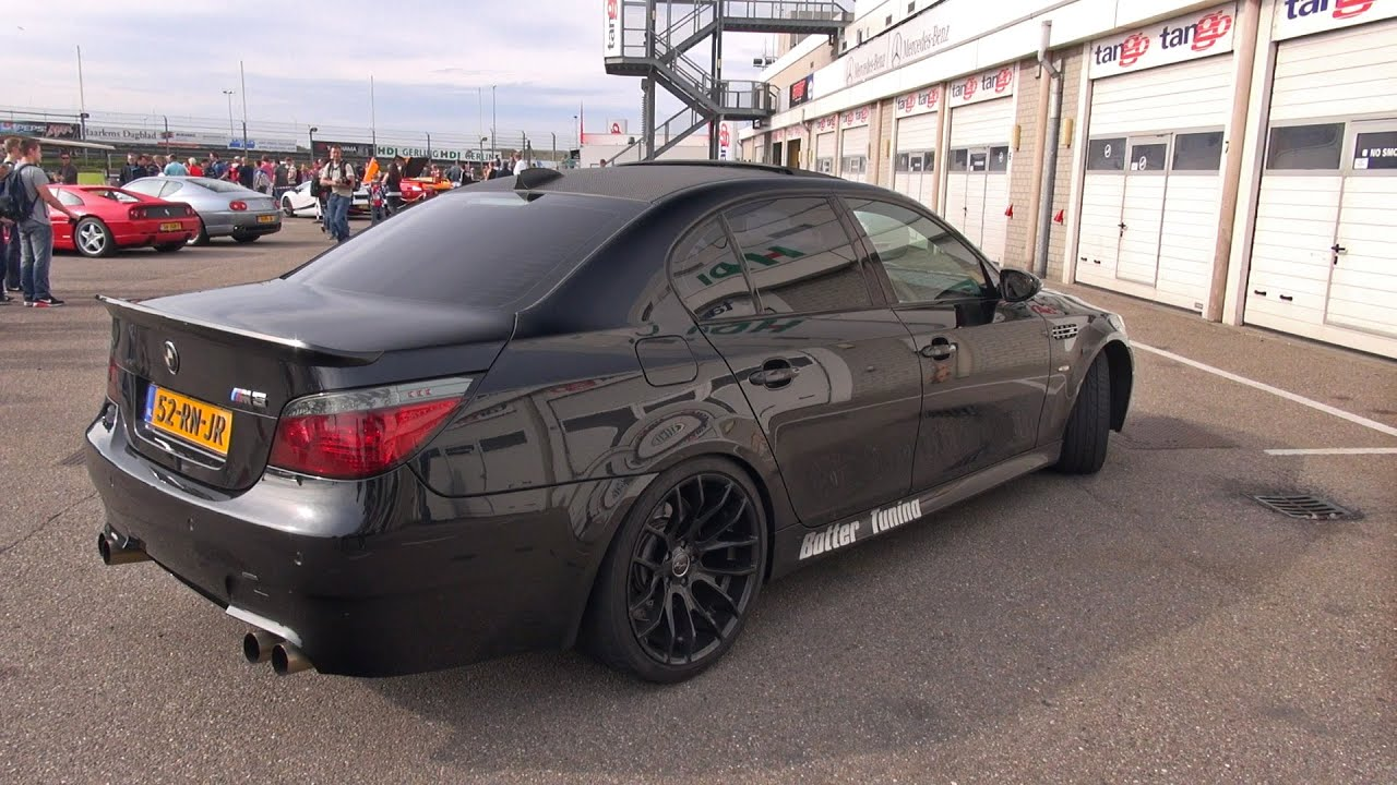 Hartge BMW M5 E60 V10 w/ Loud Botter Exhaust System! - YouTube