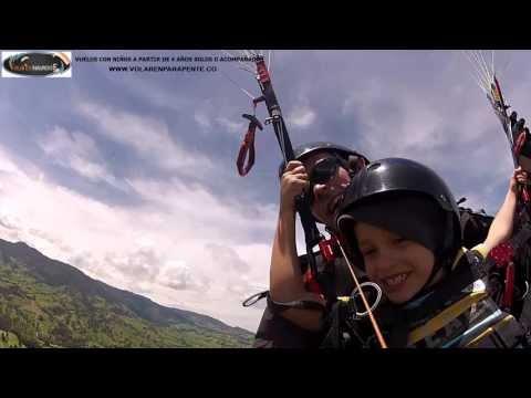 Volar en Parapente Medellin intro