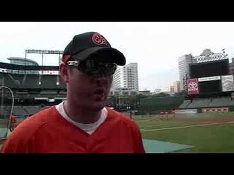 Interview with Orioles' Aubrey Huff