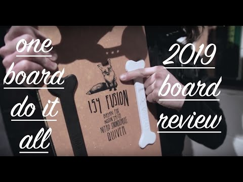 DO IT ALL! 2019 NITRO FUSION- Snowboard Review- ON SNOW