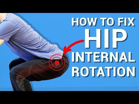 HIP INTERNAL ROTATION: (3 BEST EXERCISES 2018)