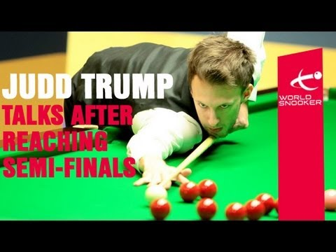 Judd Trump talks to World Snooker after his epic quarter final win over Shaun Murphy