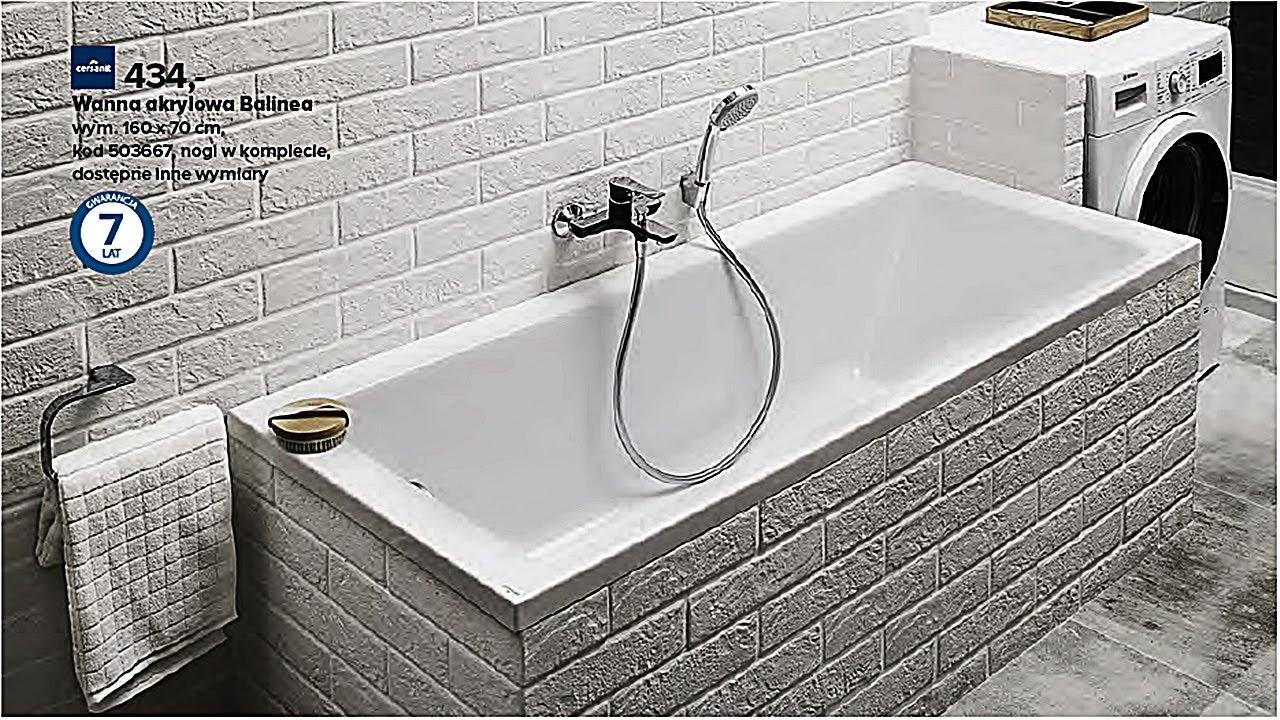 Katalog Castorama 2017 łazienki