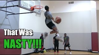 """5'11"""" Tyler Currie Has CRAZY Style! Sick Dunk Session! Video"""