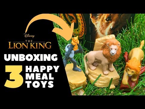 lion-king-happy-meal-toys-unboxing-outside-in-the-wild-|-movie-insider