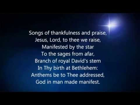 """""""Songs of Thankfulness and Praise"""" Lutheran Service Book #394"""