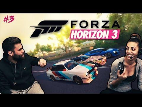 bonaGames // Forza Horizon 3 (PC) // Greek Online Meet με φίλους !