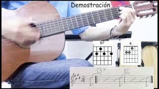 El Manicero - Acordes Guitarra - The Peanut Vendor - Guitar Chords
