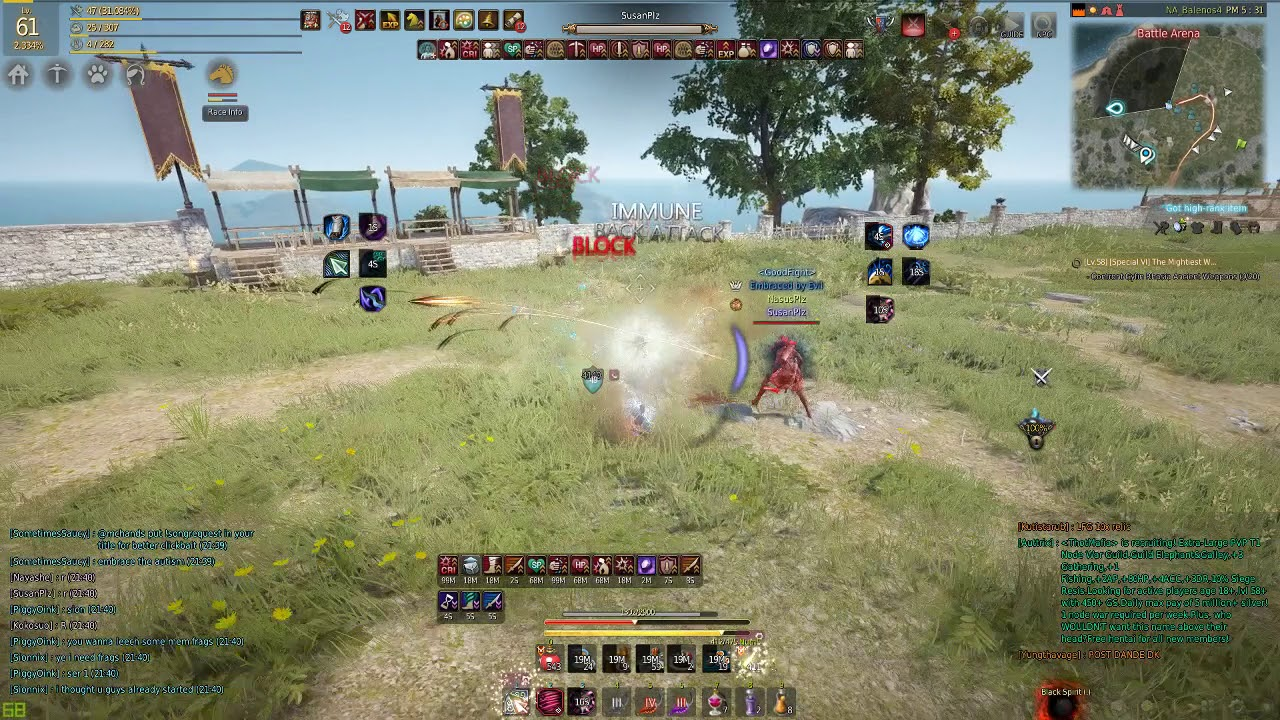 Maehwa vs Ranger ft. SusanPlz