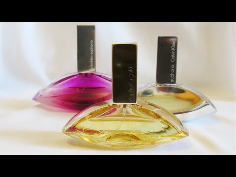 Обзор аромата Calvin Klein - Euphoria Gold || Гардения, нарцисс и мёд!