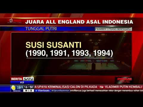 Juara All England Asal Indonesia