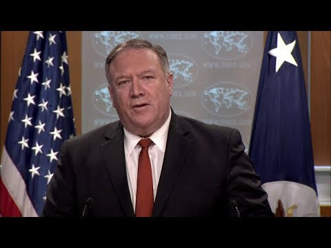 Secretary of State Michael R. Pompeo Delivers Remarks to the Media