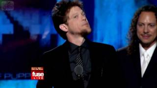 Video Jason Newsted's Acceptance Speech (Rock & Roll Hall of Fame induction 2009) [HD] download MP3, 3GP, MP4, WEBM, AVI, FLV Maret 2018