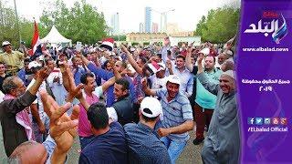 إقبال من المواطنين للاستفتاء على الدستور بمدرسة شبرا الفندقية.. فيديو