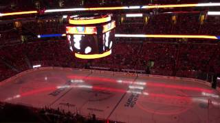Capitals Intro and Player Entrance - 2017 ECSF Game 2 PIT vs. WSH - 4/29/17