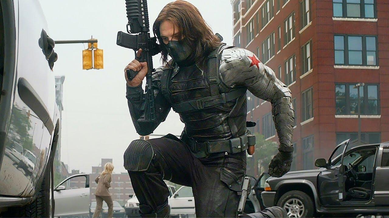 Black Widow vs Winter Soldier - Fight Scene - Captain America: The Winter Soldier (2014)
