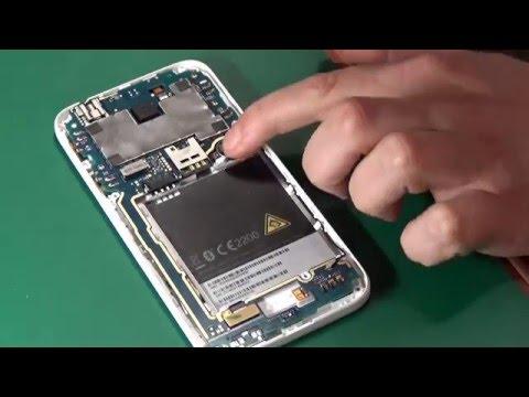HTC Desire 510 SIM card slot replace